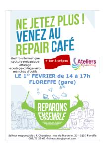 Affiche Repair Café Floreffe