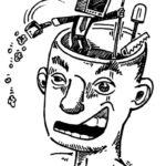 l'opinion ça se travaille, dessin de Gros dans le journal français