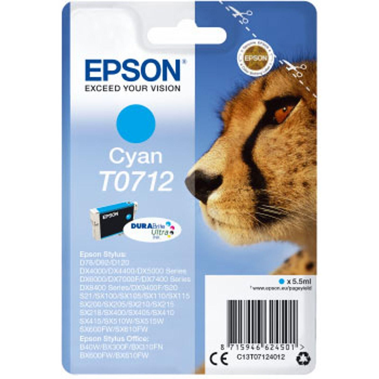 Cartouche d'encre cyan Epson