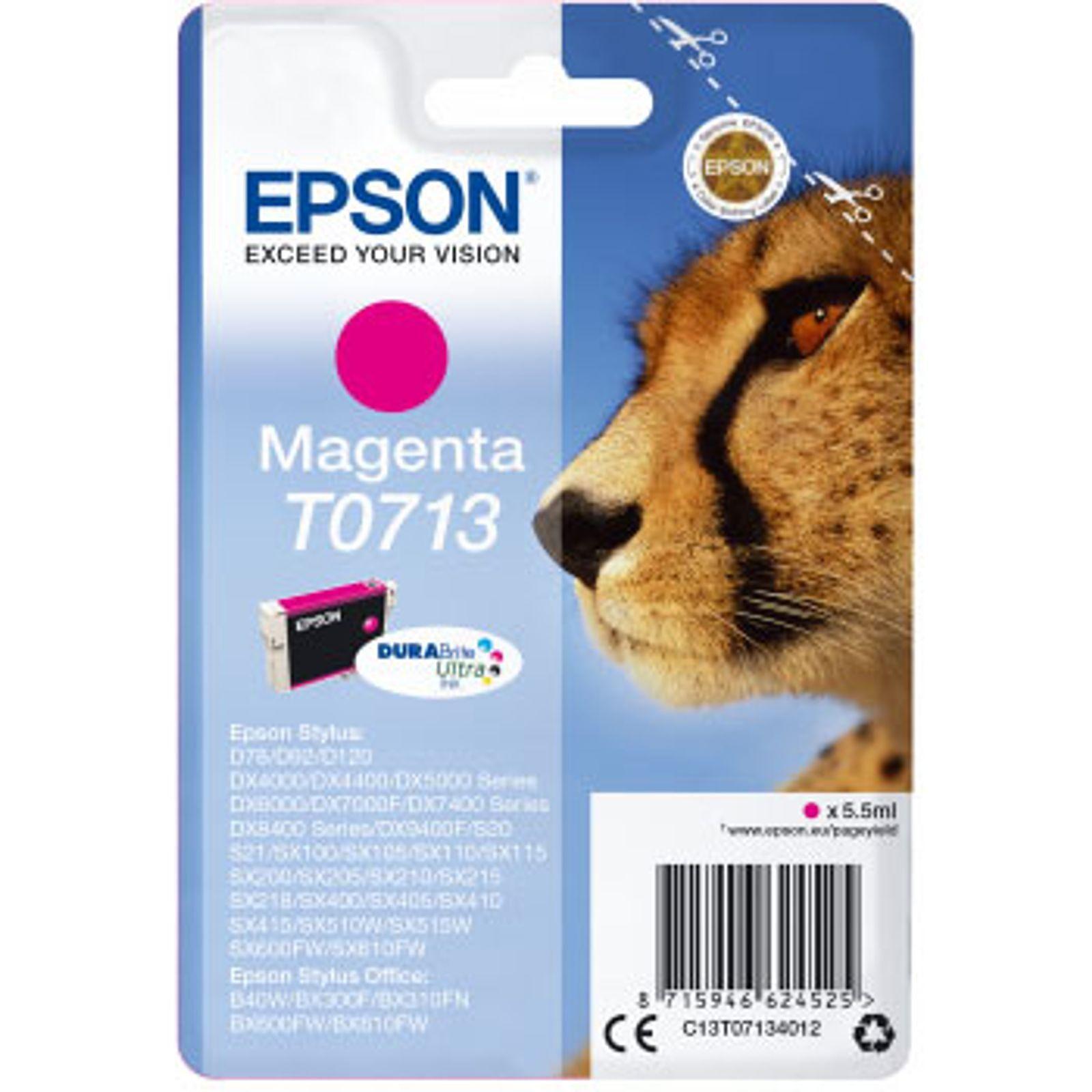 Cartouche d'encre magenta Epson