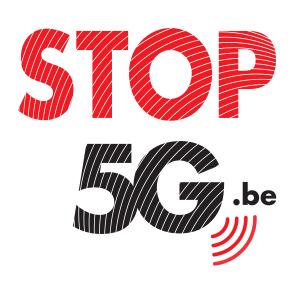 logo stop 5G .be