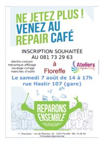 affiche répair café aout 2021