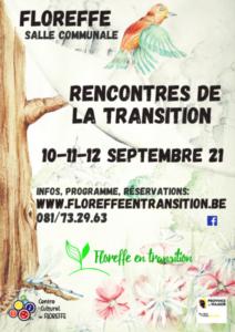 affiche rencontre transition floreffe
